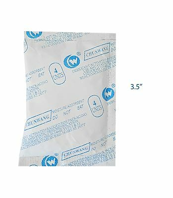PRO-TECT SILICA GEL PACKETS (10 Pack) 15 Gram TYVEK Bags - Drying Dehumidifie...