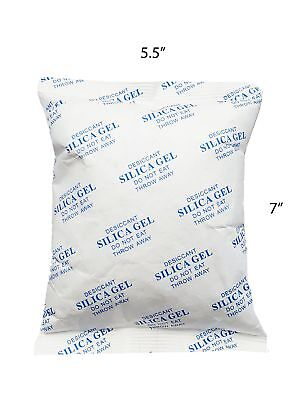 LARGE SAFE SILICA 450  GRAM PACKET (Single) Desiccant Moisture Absorbing...