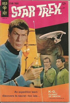 Star Trek #1 1967 Gold Key Silver Age TV Comic Book Ungraded Excellent Beauty
