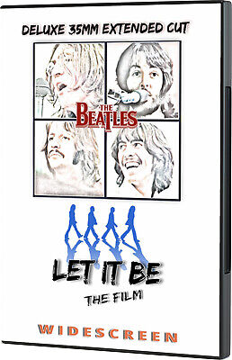 The Beatles  Let It Be [Movie] DVD Extended Cut - WS 37 min bonus footage