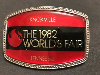 Used 1982 World's Fair Belt Buckle