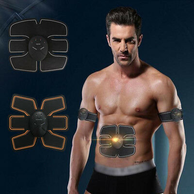 ABS Fit Electrical Body Training Gear EMS Muscle Stimulator Shoulder Back