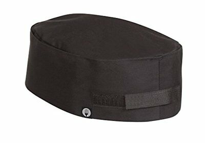 NEW Chef Works Double-Rimmed Chef Beanie (DRBK) FREE2DAYSHIP TAXFREE