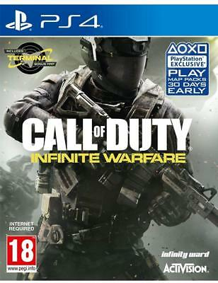 Call Of Duty Infinite Warfare PlayStation 4 PS4 GAME BRAND NEW FREE POSTAGE