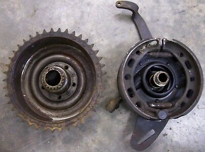"Harley Davidson 1942 Wla 45"" Flathead Rear Brake Assembly"