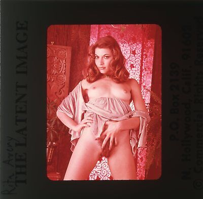*RITA AVERY* VINTAGE 70's LATENT IMAGE NUDE GIRL 35mm PHOTO SLIDE NU-646