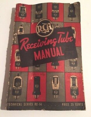 RCA Receiving Tube Manual - Technical Series RC-14, c.1940.