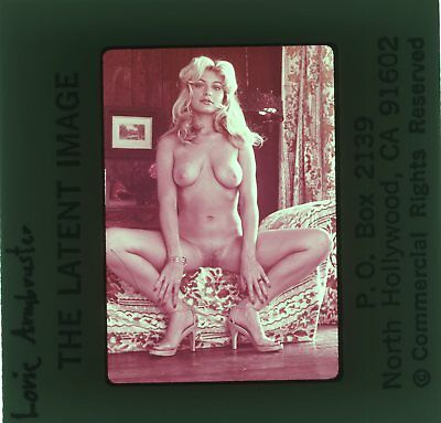*LORIE ARMBRUSTER* VINTAGE 70's LATENT IMAGE NUDE GIRL 35mm PHOTO SLIDE NU-688