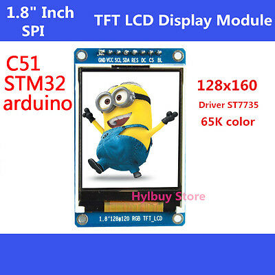 """New 1.8"""" inch Full Color 128x160 SPI Full Color TFT LCD Display replace OLED  #5"""