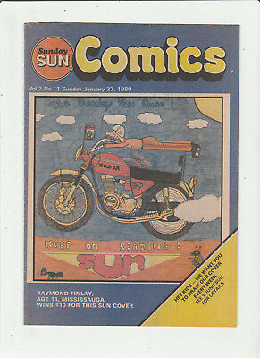 SUNDAY SUN Comics Jan 27, 1980 STAR TREK Hagar the Horrible TARZAN Born Loser VF