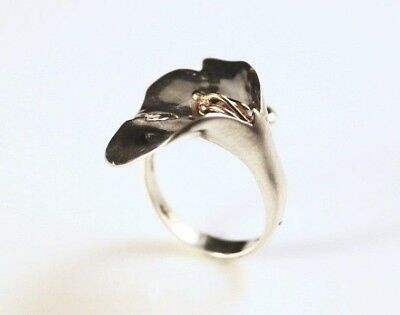 Sterling Silver Lily Wrap Ring - 8944-3