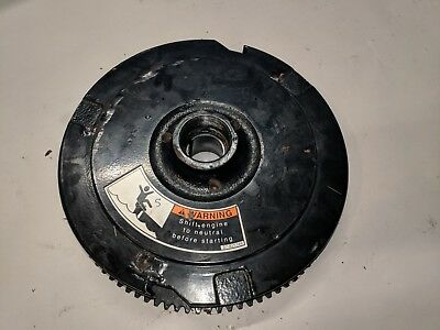 Mercury Mariner Flywheel 261 9008A66 75 90 HP 3 Cylinder