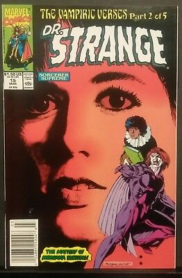 Dr. Strange #15 Nm- March 1990 Recalled Marvel Comic Amy Grant Cover High Grade