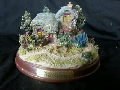Thomas Kinkade Heather's Hutch Light Up Cottage