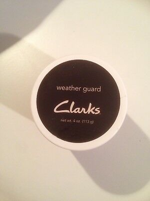 Clarks shoe brand - leather shoe lubricant / cream - brand new. Protects shoes