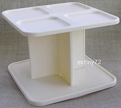 Tupperware Modular Mates Rotating Spice Carousel White New