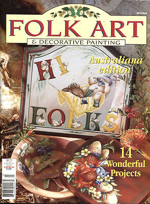 MAGAZINE -  FOLK ART & DECORATIVE PAINTING Vol 6 No 8