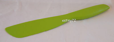 Tupperware Everyday Sandwich Spreader & Cutter Salsa Verde Green New