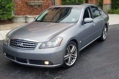 2007 Infiniti M45 sport loaded 2007 INFINITI M45 LOADED TO THE GILLS EVERY OPTION NAV, BACKUP CAMERA NO RESERVE