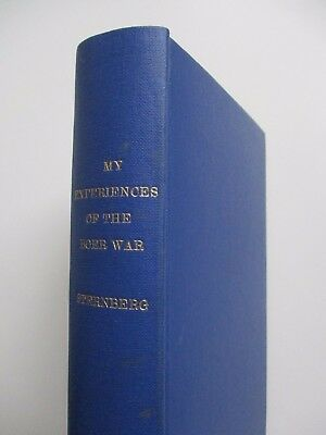 1901~My Experiences Of The Boer War~Sternberg~South Africa~Boers~Transvaal