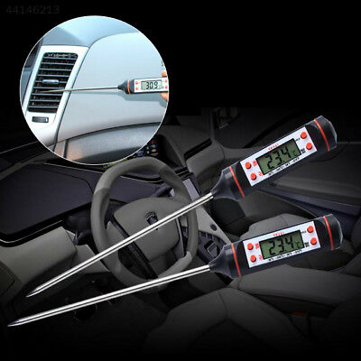 CC03 Car Vehicle Air Outlet Needle Type LCD Digital Thermometer Gauge Equipment