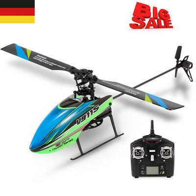 WLtoys V911S 4CH 6G Non-aileron RC Helicopter with Gyroscope for Training B1R3