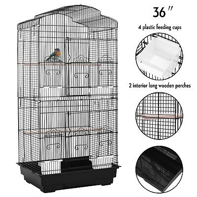 Large Bird Parrot Cage Conure Parakeet Canary LoveBird Cockatiel Finch Pet House