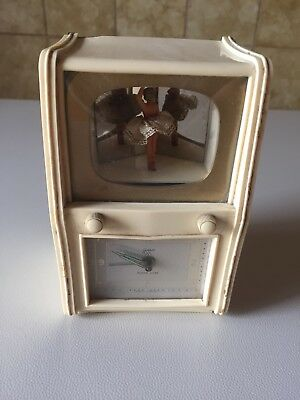 Vintage - Ballerina Music Box Alarm Clock - Goldbuhl