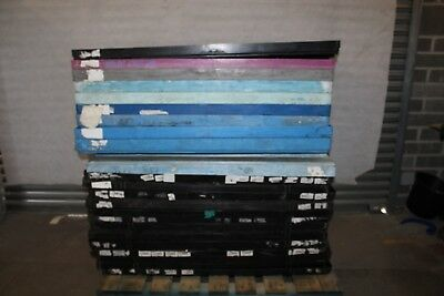 Job Lot Of 23 Plastic Euro Sized Pallet Lids For Euro Stillages
