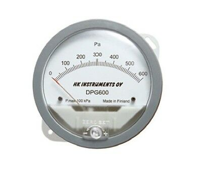 HK Instruments DIFFERENTIAL PRESSURE GAUGE - 0-250Pa Or 0-500Pa