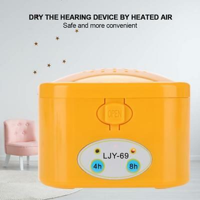 Electric Hearing Aid Dryer Assistance Drying Tool Maintain Dry Box Storage Case#