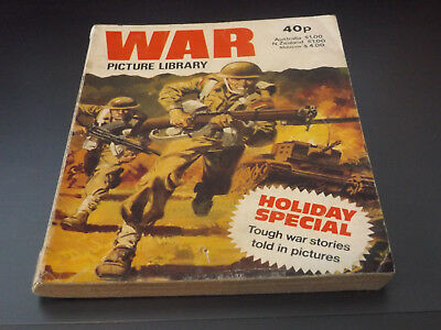 WAR PICTURE LIBRARY HOL SP!,dated 1980!,GOOD for age,great 38!YEAR OLD issue.