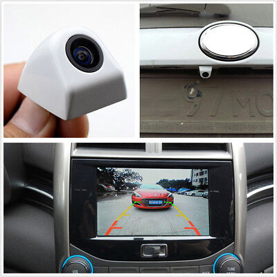 170°Korean Screw White Car Front View Backup Parking Assistance Reversing Camera