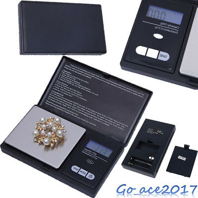 Mini Digital Electronic Pocket Gold Jewellery Weighing Scales 0.01G to 200 Grams