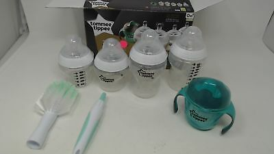 Tommee Tippee Closer To Nature Newborn Starter Gift Set, Clear