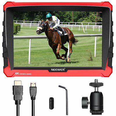 Neewer NW-A7S Camera Field Monitor with Silicone Case 7-inch 4K 1920x1200 IPS