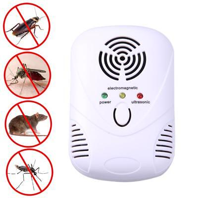 110-250V/6W Electronic Ultrasonic Mouse Killer Mouse Cockroach Mosquito Repeller