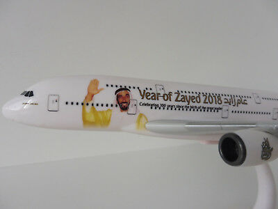 YEAR OF ZAYED 2018 EMIRATES Airbus A380-800 1/250 Herpa A380 A 380 Sheikh
