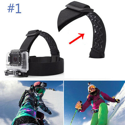 Action Camera Accessory Adjustable Head Mount Strap For GoPro HERO Accessories