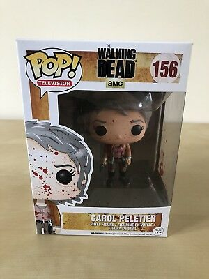 Funko Pop The Walking Dead Bloody Carol Peletier #156 Exclusive