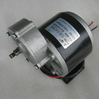 DC12V/24V Metal Gear Box Reducer Motor 190~400rpm 100-350W For Electric Bike/DIY