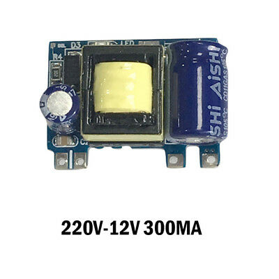 AC-DC 220V to 12V 300MA 3w  Step-down Buck Power Module Switch Isolated Supply