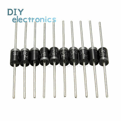 10PCS/20PCS SR5100 5A 100V Schottky Rectifiers Diode IU DO-201AD US