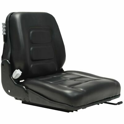 vidaXL Forklift & Tractor Seat with Suspension and Adjustable Backrest Part