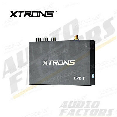 XTRONS Digital TV Box Tuner DVB-T Freeview Receiver Remote Control + Antenna