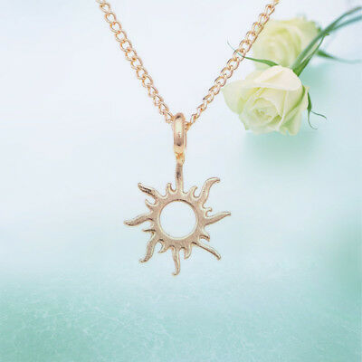 Sun Gold Women Necklace Alloy The New Clavicle