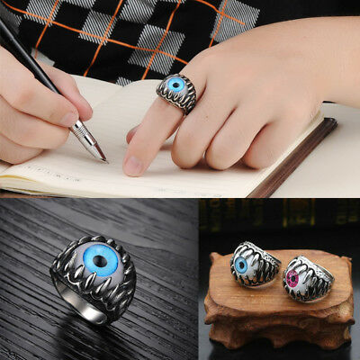 Men's Ring Stainless Steel Dragon Claw  Cool Rock Band Jewelry Man Rings
