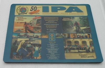 Mouse Pad 50 Jahre International Police Association IPA Polizei