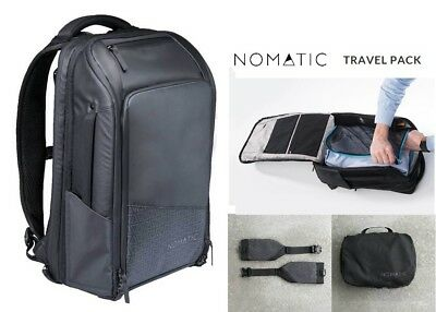 NOMATIC TRAVEL PACK BUNDLE Design For 1-3 Days Trips 20L-30L New with TAGS