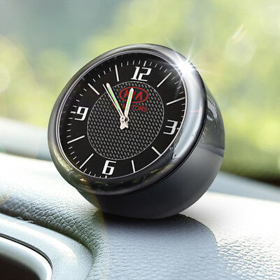 Vintage Car Electric Analog Quartz Clock For KIA Interior Ornaments Decoration